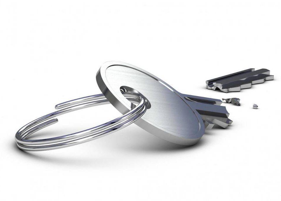 Jak usunąć złamany klucz z zamka